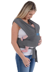Mums & Bumps Dreamgenii SnuggleRoo Baby Carrier, Charcoal