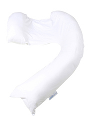 Mums & Bumps Dreamgenii Pregnancy, Support & Feeding Pillow, White