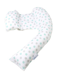 Mums & Bumps Dreamgenii Geo Printed Pregnancy, Support & Feeding Pillow, Multicolor