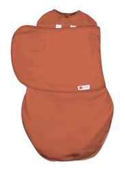 Mums & Bumps Embe-Babies Starter 2-Way Swaddle, 0-3 Months, Rust Brown