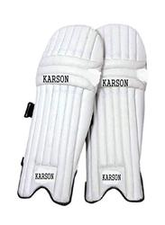 Karson Batting Leg Pad for Kids, White