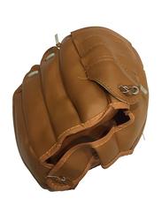 Baseball Full Finger Gloves, Free Size, Brown