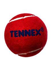 Tennex Cricket Ball, Small, Red