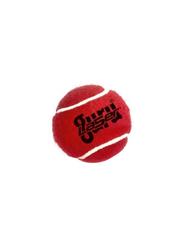 Guru Heavy Weight Cricket Tennis Ball, Red