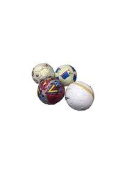 Karson 4-Piece Mix Style Hand Stich Football Set, Multicolour