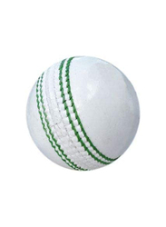 Leather GL Super Test Cricket Ball, 6 Pieces, White
