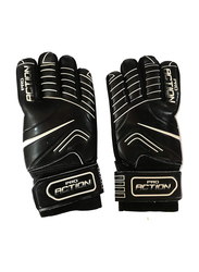 Pro Action Size-12 Football Gloves, Black