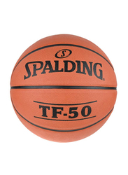Spalding TF-50 Outdoor Basketball, Orange