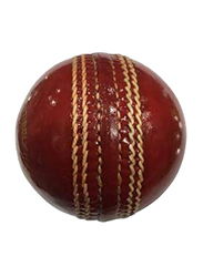 Karson Leather GL Super Test Cricket Ball, 6 Pieces, Red
