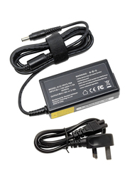 Samsung 60W AC Charger Adapter for Samsung Laptops, Black