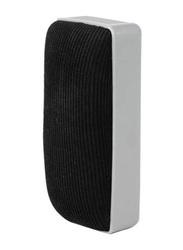 Deli Whiteboard Eraser, Grey/Black