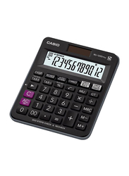 Casio MJ-120D Plus-BK 12-Digit Financial and Business Calculator, Black