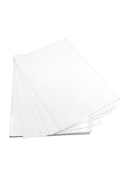 Glossy Photo Paper Sheets, 20-Sheets, A4 Size, White