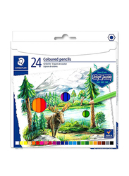 Staedtler Colored Pencils Set, 24-Pieces, Multicolor