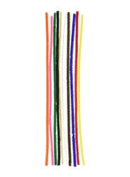 Darice 100-Piece Chenille Stem Set, Multicolor