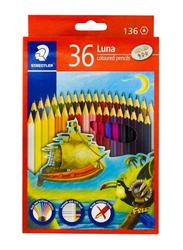 Staedtler 36-Piece Luna Coloring Pencil Set, Multicolor