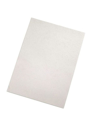 Partner A4 Embossed Binding Sheet, 100 Pieces, White