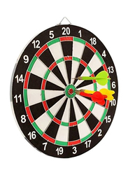 Tickles 5-Piece Set Double Sided Dart Board Game