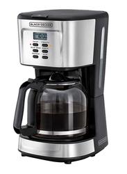 Black+Decker Programmable Coffee Maker, 900W, DCM85-B5, Black