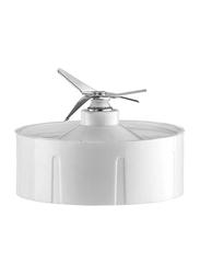 Black+Decker Blender with Grinder and Chopper Mill, 400W, BX4000-B5, White