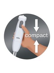 Braun Electric Hand Blender, 450W, MQ120, White
