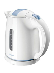 Philips 1.5L Electric Kettle, 2000-2400W, HD-4646, White