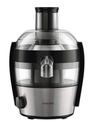 Philips Viva Collection Juicer, 500W, HR1836, Metallic Grey