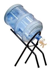 Almufarrej Foldable Water Dispenser Bottle Stand, KY-48, Black