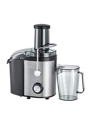 Black+Decker 1.7L Juicer Extractor Stainless Steel with Powerful Function, 800W, JE800-B5, Black/Silver/Clear