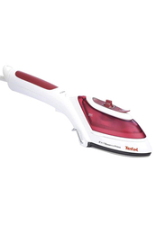 Tefal 2-In-1 Steam and Press Iron, 800W, DV8610M1, White/Red
