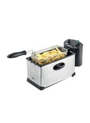 Kenwood 3L Deep Fryer, 2000W, Silver/Black