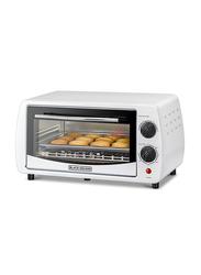 Black+Decker 9L Double Glass Toaster Oven, 800W, TRO9DG-B5, White