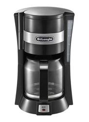 Delonghi 1.25L Electric Coffee Maker, 900W, ICM15211, Black