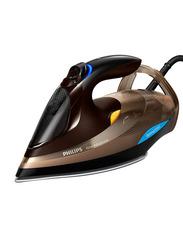 Philips Azur Advanced Steam Iron, 3000W, 330ml, GC4936/06, Brown/Black