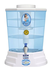 Kent Gold+ Gravity Based Water Purifier, White/Clear
