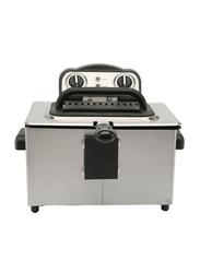 Prestige 4L Stainless Steel Deep Fryer, PR54915, Silver