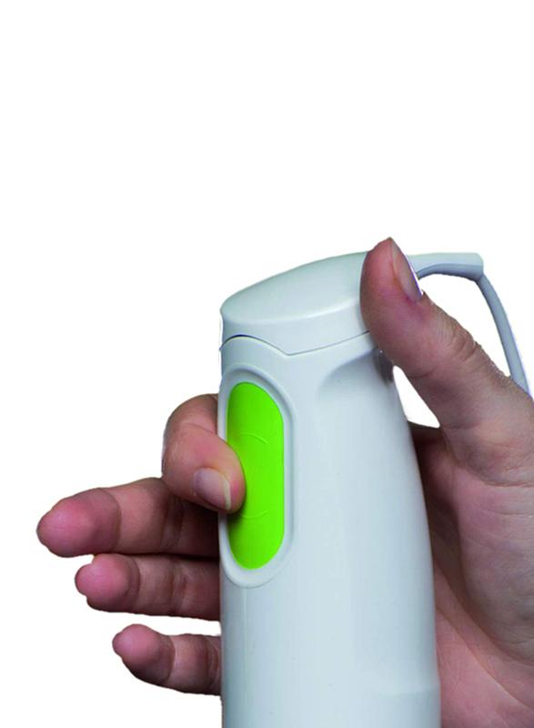 Braun MultiQuick Hand Blender, 450W, MQ 100, White/Clear