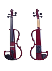 Steiner R E10 Electric Violin, Whitewood Fingerboard, Wine Red