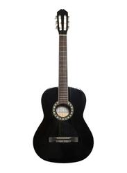 Carlos C941 Classical Guitar, Rosewood Fingerboard, Black