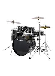 Tama RM50YH6-CCM Acoustic Drum Set, Black