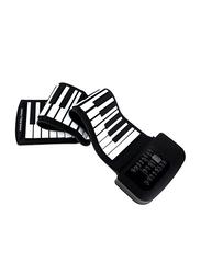 Deviser KH G1 Folded Keyboard, 49 Keys, Black/White