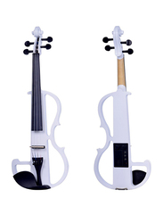 Steiner R E10 Electric Violin, Whitewood Fingerboard, White