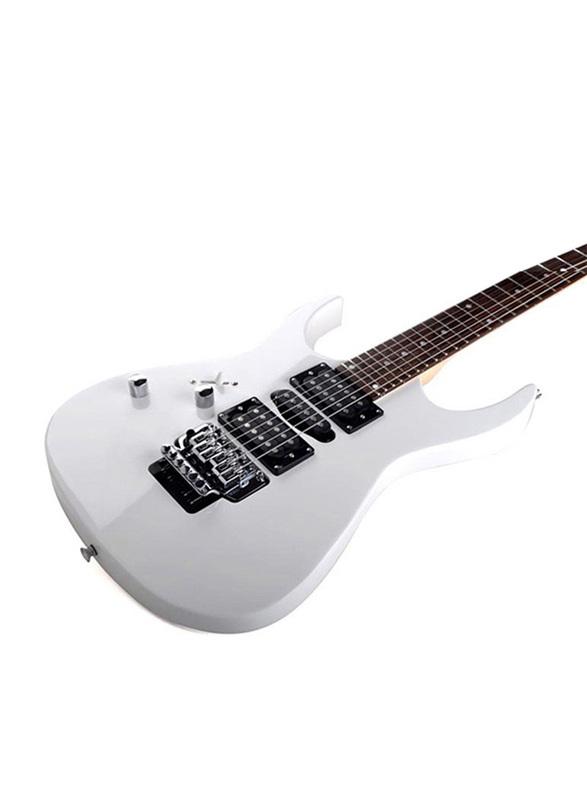 Steiner EG5 Electric Guitar, Rosewood Fingerboard, White