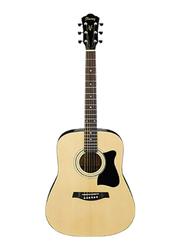 Ibanez V50NJP-NT Acoustic Guitar, Nandu Wood Fingerboard, Natural Beige