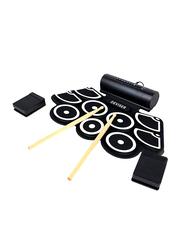 Deviser KH-A1 Electronic Drum Set, Black/White