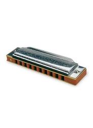 Suzuki 1072(N) C Harmonica, Silver/Brown