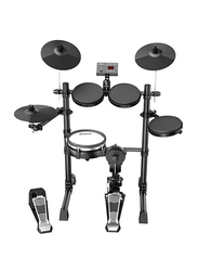 Aroma TDX-15S Electronic Drum Set, Black