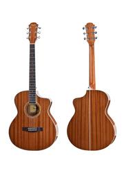 Steiner TS430 Acoustic Guitar, Rosewood Fingerboard, Brown