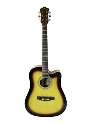 Steiner AG 414 Acoustic Guitar, Rosewood Fingerboard, Mustard