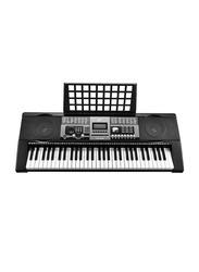 MK 2089 Electronic Keyboard, 61 Keys, Black